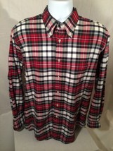 Nautica Men's Checkered Long Sleeve Dress Shirt - Size: Medium - Amazing - $18.60