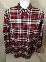 Nautica Men's Checkered Long Sleeve Dress Shirt - Size: Medium - Amazing - $18.60