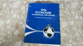1996 FORD Econoline Service Shop Repair Manual Used OEM Powertrain Drive... - $21.05