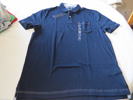 Men's Tommy Hilfiger Pocket Polo shirt  logo 7871395 Navy Blazer S Classic Fit - $35.63