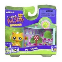 Littlest Pet shop Nook - Yellow Kitten - $89.97