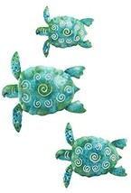 Regal Art and Gift S599 Sea Turtle Wall Decor, Set of 3, Blue/Green - $34.95