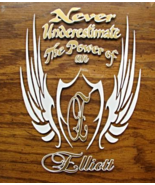 Never Underestimate The Power of A (Surname)(Fa... - $15.00
