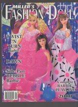 Miller's Fashion Doll Magazine August 2000 - $3.00