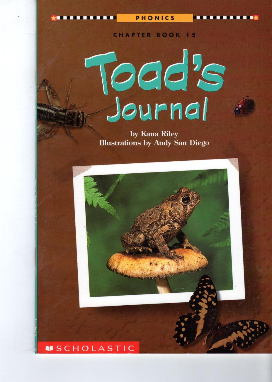 Primary image for Toad's Journal - Phonics Chapter Book
