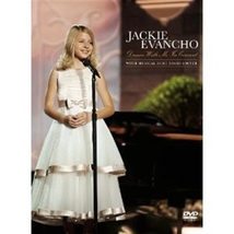 DREAM WITH ME IN CONCERT- DVD by Jackie Evancho