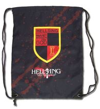 Hellsing Ultimate Organization Emblem Drawstring Bag Backpack GE11698 *NEW* - $19.99