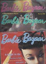 Barbie Bazaar Magazine - 3 Issues 1996 - $11.00