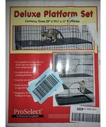 ProSelect Plastic Cat Cage Deluxe Platforms - $45.00