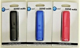 ONN Portable Battery for Phones, Tablets, & Other USB-Charged Devices - 3 Pack