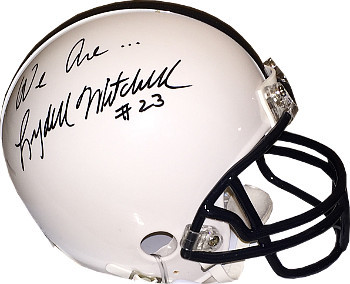 Lydell Mitchell signed Penn State Nittany Lions Riddell Mini Helmet We Are...