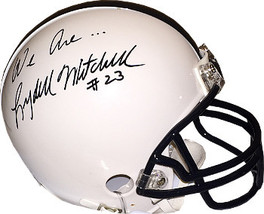 Lydell Mitchell signed Penn State Nittany Lions Riddell Mini Helmet We A... - $49.95