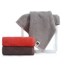Soft Cotton Towel 3 Colorful Stripes Washcloth Quick Absorbence Hotel Ba... - $8.09