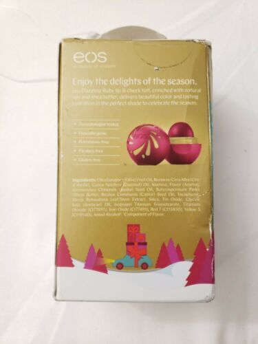 EOS Lip & Cheek Tint Holiday Limited Edition Dazzling Ruby Shea Butter Oils