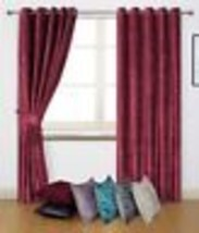 Curtains Intricate Diamond Waffle Effect Jacquard Brown Lined Anneau Top Curtains 9 Sizes