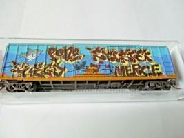 Micro-Trains # 02544146 Hartford & Slocumb Weathered 50' Rib-Side Boxcar N-Scale image 1