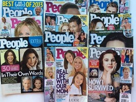 People Magazine 11 Lot 2013 2014 Dec 2006 Extra Celebrity - $7.85