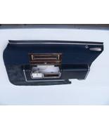 1991 CADILLAC BROUGHAM d'Elegance RIGHT FRONT BLUE VELOUR DOOR PANEL OEM... - $231.41