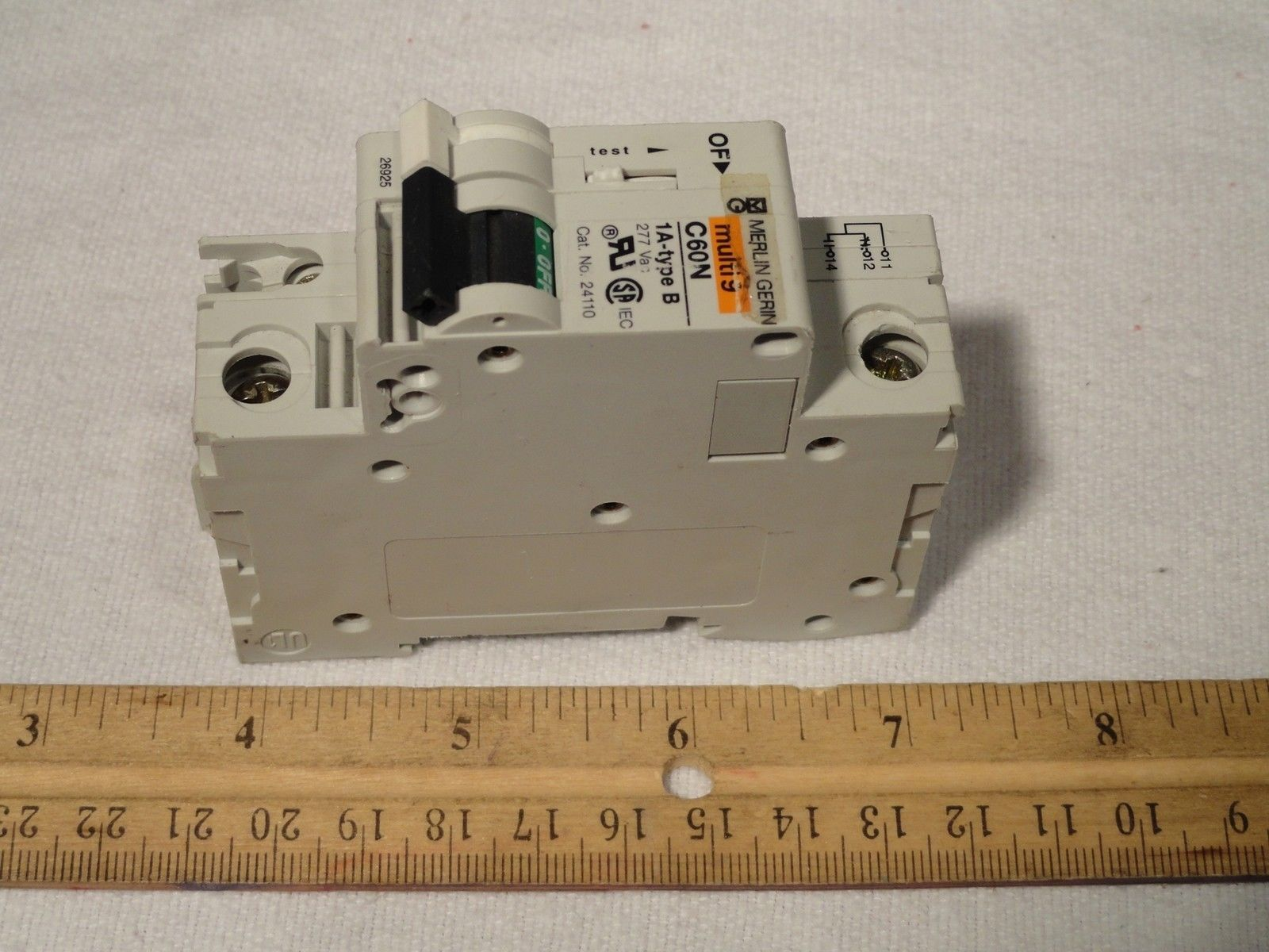 Merlin Gerin 24110 Multi 9 C60n Auxiliary And 50 Similar Items Details About Siemens 5sx21 C5 230 400v 5 Amp Circuit Breaker Voltage Rating 277v 1a