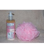 Soap & Glory Clean On Me CREAMY Moisture Shower Gel & Puff.4 oz/250mL New - $22.76