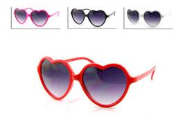 Large Oversized Womens Heart Shaped Sunglasses Cute Love Fashion Eyewear - $6.39+