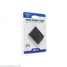 Tomee 16MB Memory Card Game Save Utility for PlayStation 2 PS2 - $12.99