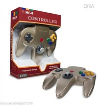 Gold Controller  For the Nintendo 64 Joystick Brand New FAST SHIP - $17.99