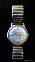 Benrus Watch Vintage Automatic Yellow Gold WORKS! - $228.87