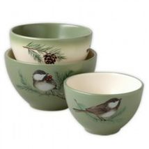 Pfaltzgraff Winterwood  Mini Prep Bowls Set of  3 New with Tags - €44,68 EUR