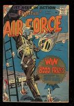 FIGHTIN' AIR FORCE #14 1959-CHARLTON WAR COMICS-KOREA G - $31.53