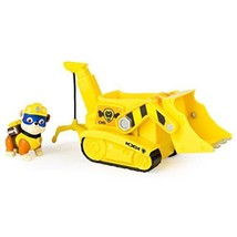 Paw Patrol Super Pup Rubble's Crane, Vehicle and Figure (works with Paw ... - $33.25