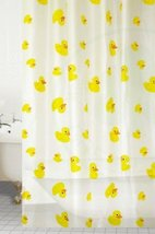 Ducks Designer Peva Shower Curtain 180 X 180cm [Home] - $21.77