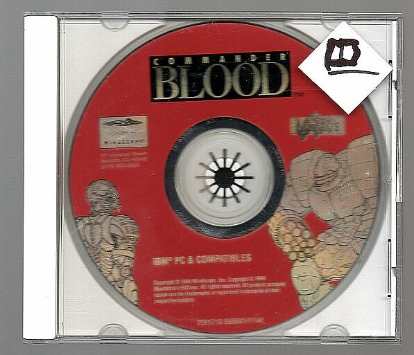 g Commander Blood, Vintage DOS game, PC