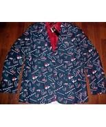 Houston Texans NFL AFC Team Apparel Men Blue Motif Logo Sport Jacket M (... - $98.99