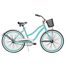 "Girls Bikes with Basket Cup Holder Cruiser Huffy 24"" Retro Bike Bicycle ... - $250.42"