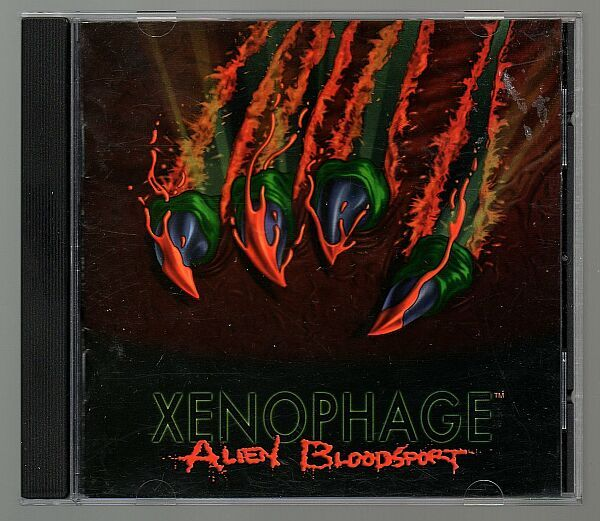 g Xenophage Alien Bloodsport, 1994, Vintage DOS game, PC