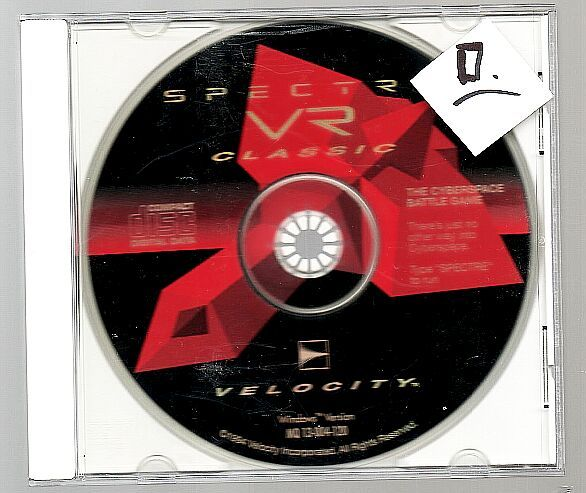 g Spectre VR,, Vintage Win 3.1 PCgame, 1994