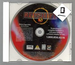 g Redshift 3 Demo, Vintage DOS game, PC, 1998, DEMO / shairwere - $5.00