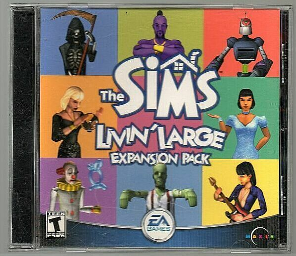 g Livin Large, Sims expansion Pack, PC