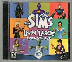g Livin Large, Sims expansion Pack, PC - $6.55