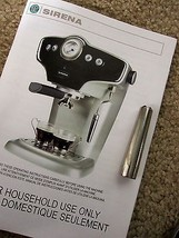 Sirena Starbucks Espresso Maker Steam Hot Water Wand ONLY - $29.99