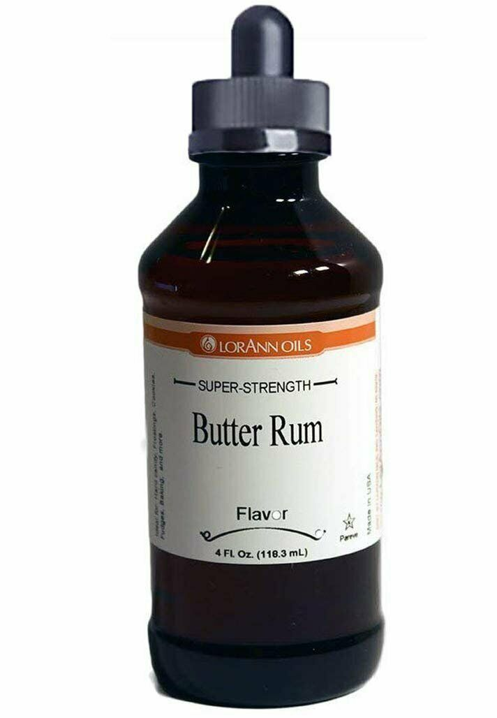 Primary image for LorAnn Super Strength Butter Rum Flavor, 4 ounce bottle - Includes a Child...