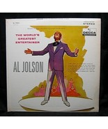 Al Jolson The World's Greatest Entertainer Decca 79074 - $4.99