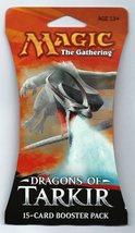 Magic The Gathering Dragons of Tarkir 1x Booster Retail Packaging - $8.95