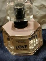 VICTORIA'S SECRET LOVE EAU DE PARFUM PERFUME SPRAY NEW .25oz New - $16.10