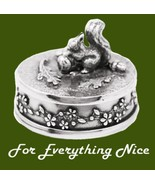 Squirrel Animal Themed Stylish Pewter Decorativ... - $50.00