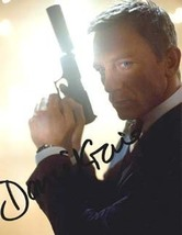 Daniel Craig Full Signature Autographed Photograph Bond 007 - $150.00