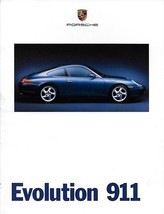 1998 Porsche 911 CARRERA sales brochure catalog US 98 996 Evolution - $12.00