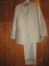 "MICHAEL KORS Men's POLYESTER Blend Two Piece Lined Beige Suit, Chest 36"" - €53,25 EUR"