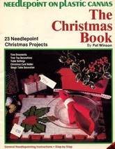 Christmas Book 23 Projects Plastic Canvas Pattern Leaflet -30 Days To Shop & Pay - $2.67
